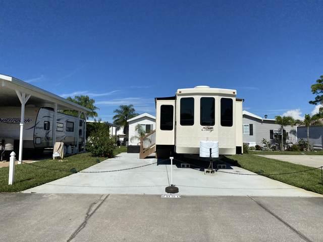 2950 Frontier Drive #78, Titusville, FL 32796 (MLS #887243) :: Premier Home Experts