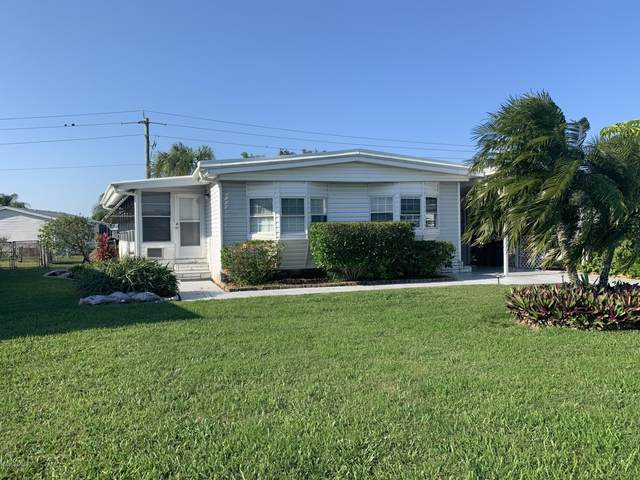 416 Osprey Drive, Barefoot Bay, FL 32976 (MLS #887386) :: Coldwell Banker Realty