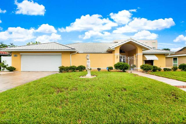 349 Jack Drive, Cocoa Beach, FL 32931 (MLS #887493) :: Premium Properties Real Estate Services
