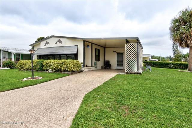 441 Marlin Circle, Barefoot Bay, FL 32976 (MLS #887582) :: Coldwell Banker Realty