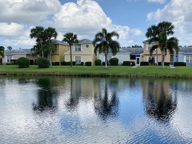 1495 Malibu Circle NE #109, Palm Bay, FL 32905 (MLS #887777) :: Coldwell Banker Realty