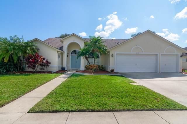 1070 Egret Lake Way, Melbourne, FL 32940 (MLS #887802) :: Blue Marlin Real Estate