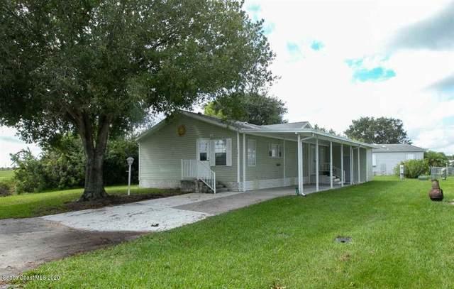 701 Lark Drive, Barefoot Bay, FL 32976 (MLS #887813) :: Premium Properties Real Estate Services