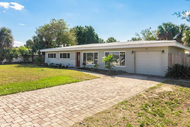 221 Norwood Avenue, Satellite Beach, FL 32937 (MLS #887866) :: Engel & Voelkers Melbourne Central