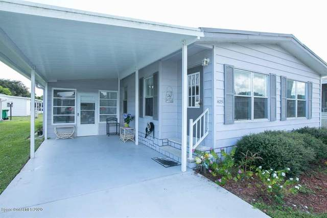 425 Puffin Drive, Barefoot Bay, FL 32976 (MLS #887933) :: Coldwell Banker Realty