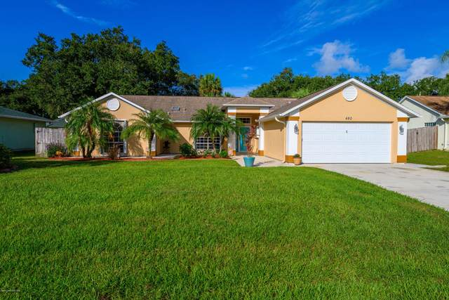 480 Golden Dove Avenue NE, Palm Bay, FL 32907 (MLS #888095) :: Premium Properties Real Estate Services