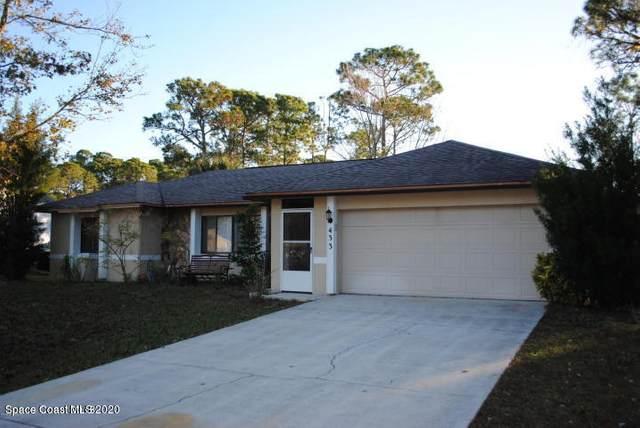 433 Saragassa Avenue SW, Palm Bay, FL 32908 (MLS #888292) :: Blue Marlin Real Estate