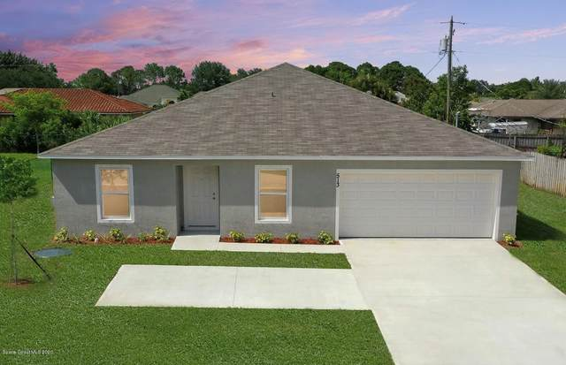1702 SE San Filippo Drive SE, Palm Bay, FL 32909 (MLS #888429) :: Blue Marlin Real Estate