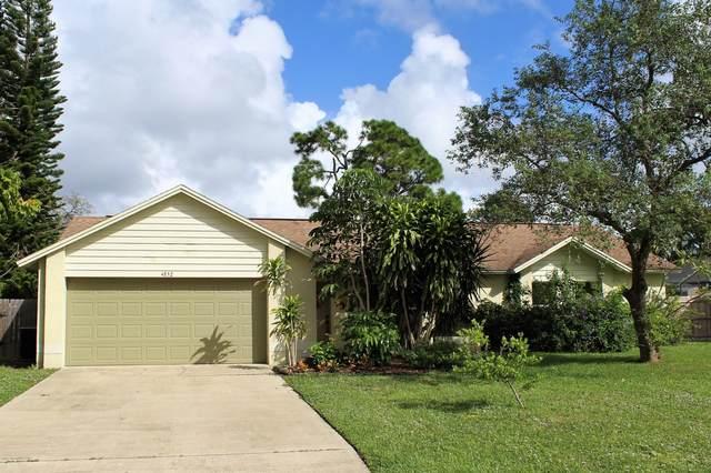 4852 Alfred Street, Cocoa, FL 32927 (MLS #888440) :: Blue Marlin Real Estate