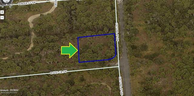 1001 Corner Lot On Rouse Circle SW, Palm Bay, FL 32908 (MLS #888446) :: Coldwell Banker Realty