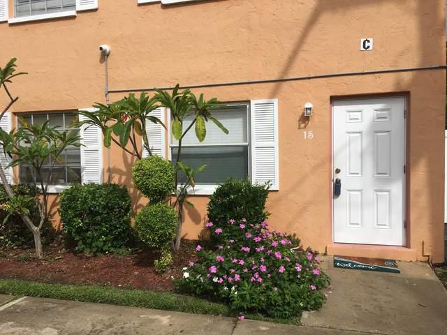 50 Needle Boulevard #15, Merritt Island, FL 32953 (MLS #888480) :: Premium Properties Real Estate Services