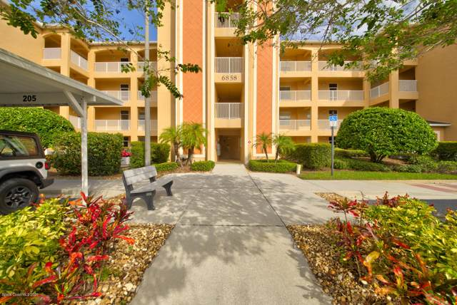 6858 Toland Drive #205, Melbourne, FL 32940 (MLS #888707) :: Premium Properties Real Estate Services