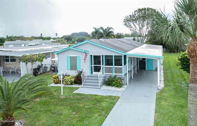 921 Barefoot Boulevard, Barefoot Bay, FL 32976 (MLS #888800) :: Coldwell Banker Realty