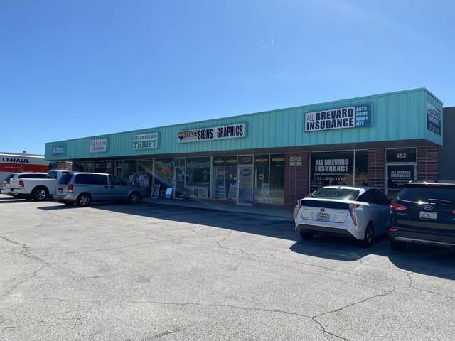 442 N Harbor City Boulevard N, Melbourne, FL 32935 (MLS #888933) :: Coldwell Banker Realty