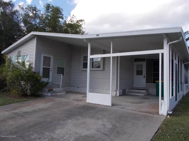 800 Tamarind Circle, Barefoot Bay, FL 32976 (MLS #888980) :: Coldwell Banker Realty