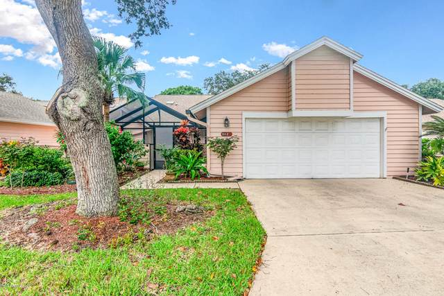 842 Ridge Lake Drive, Melbourne, FL 32940 (MLS #889266) :: Coldwell Banker Realty