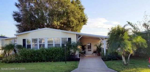 631 Puffin Drive, Barefoot Bay, FL 32976 (MLS #889304) :: Premium Properties Real Estate Services