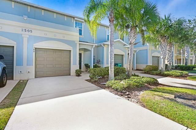 2505 E Revolution Street #104, Melbourne, FL 32935 (MLS #889325) :: Premium Properties Real Estate Services