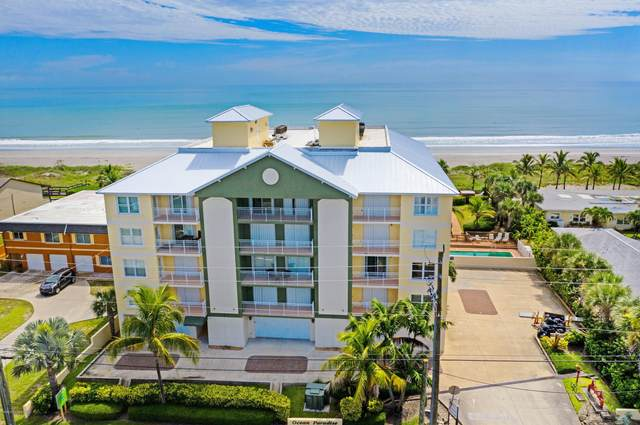 3409 S Atlantic Avenue #203, Cocoa Beach, FL 32931 (MLS #889380) :: Premium Properties Real Estate Services