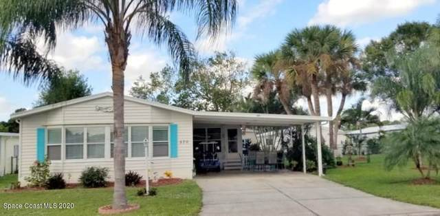 570 Dolphin Circle, Barefoot Bay, FL 32976 (MLS #889494) :: Coldwell Banker Realty