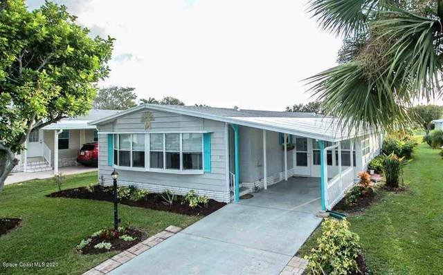 811 Silverthorn Court, Barefoot Bay, FL 32976 (MLS #889575) :: Coldwell Banker Realty
