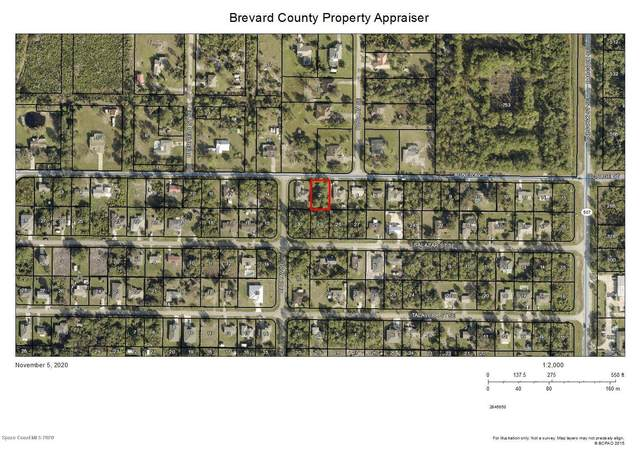 1612 Agnes Avenue SE, Palm Bay, FL 32909 (MLS #889596) :: Premium Properties Real Estate Services