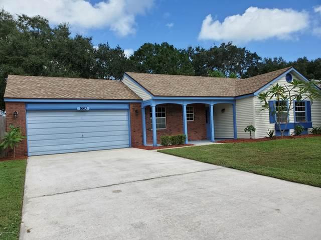 1663 Norwood Street NE, Palm Bay, FL 32905 (MLS #889618) :: Coldwell Banker Realty