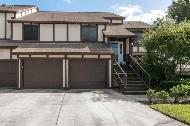 693 Greenwood Manor Circle 24B, Melbourne, FL 32904 (MLS #889664) :: Blue Marlin Real Estate