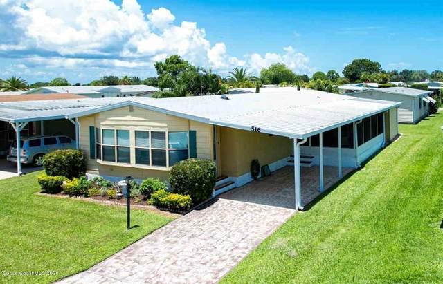 516 Puffin Drive, Barefoot Bay, FL 32976 (MLS #889948) :: Premium Properties Real Estate Services