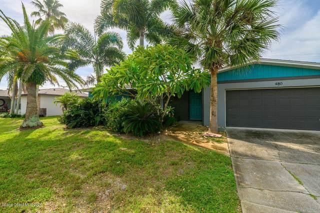 480 Kale Street, Satellite Beach, FL 32937 (MLS #889991) :: Premium Properties Real Estate Services
