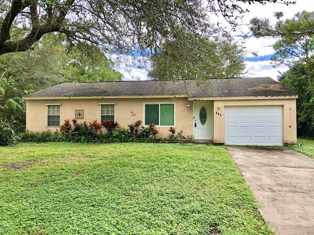 844 Sorrel Street NW, Palm Bay, FL 32907 (MLS #890130) :: Coldwell Banker Realty