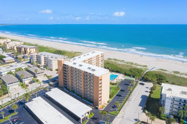 7520 Ridgewood Avenue #106, Cape Canaveral, FL 32920 (MLS #890475) :: Premium Properties Real Estate Services