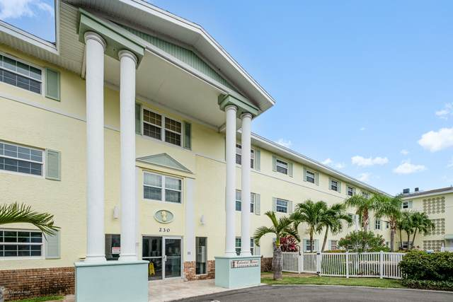 230 Columbia Drive #113, Cape Canaveral, FL 32920 (MLS #890719) :: Engel & Voelkers Melbourne Central