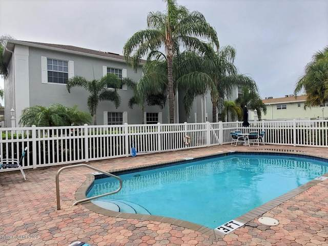 160 S Shepard Drive #13, Cocoa Beach, FL 32931 (MLS #890850) :: Coldwell Banker Realty
