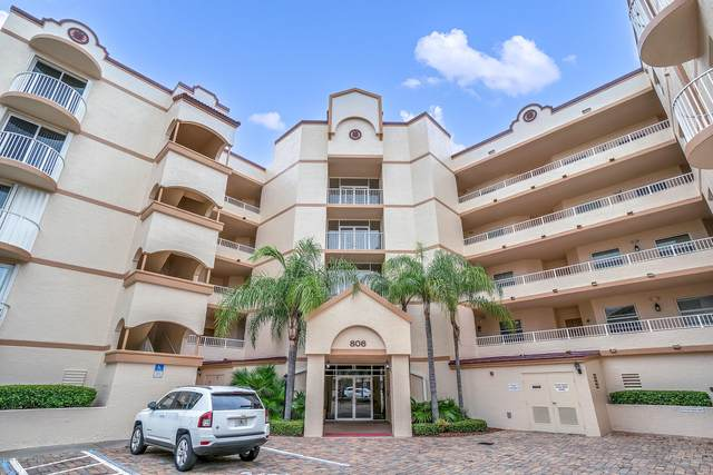 806 Mystic Drive #502, Cape Canaveral, FL 32920 (MLS #890890) :: Coldwell Banker Realty