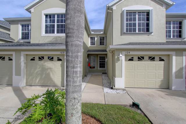 1012 Handsome Cab Lane #104, Melbourne, FL 32940 (MLS #890938) :: Blue Marlin Real Estate