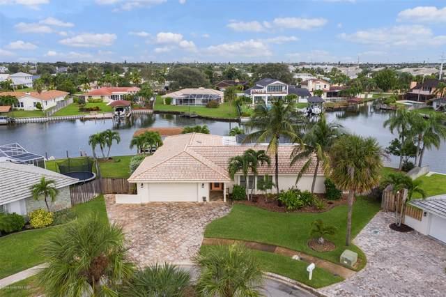 225 Madrid Court, Satellite Beach, FL 32937 (MLS #891008) :: Coldwell Banker Realty