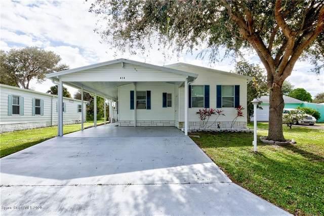 414 Egret Circle, Barefoot Bay, FL 32976 (MLS #891117) :: Premium Properties Real Estate Services