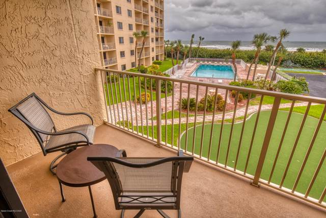 7520 Ridgewood Avenue #309, Cape Canaveral, FL 32920 (MLS #891259) :: Premium Properties Real Estate Services