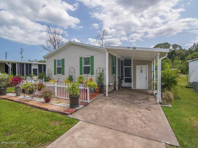 907 Vireo Drive, Barefoot Bay, FL 32976 (MLS #891332) :: Premium Properties Real Estate Services