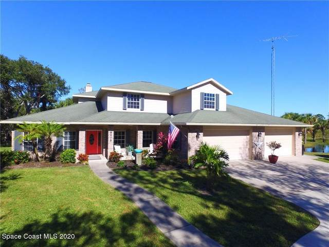 9475 Fleming Grant Road, Micco, FL 32976 (MLS #891861) :: Blue Marlin Real Estate
