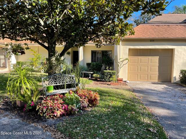 215 Country Club Drive, Melbourne, FL 32940 (MLS #891993) :: Blue Marlin Real Estate