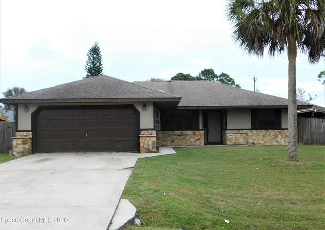 1021 NW Jupiter Boulevard NW, Palm Bay, FL 32907 (MLS #892333) :: Blue Marlin Real Estate
