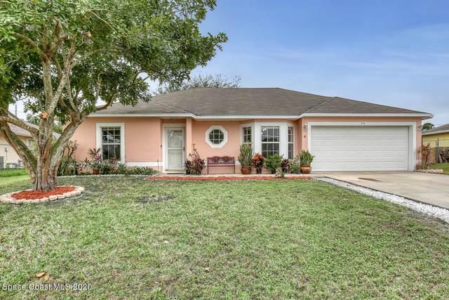 534 Davidson Street SE, Palm Bay, FL 32909 (MLS #892611) :: Premier Home Experts