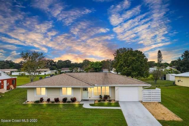 1022 Hooper Avenue NE, Palm Bay, FL 32905 (MLS #892629) :: Premium Properties Real Estate Services