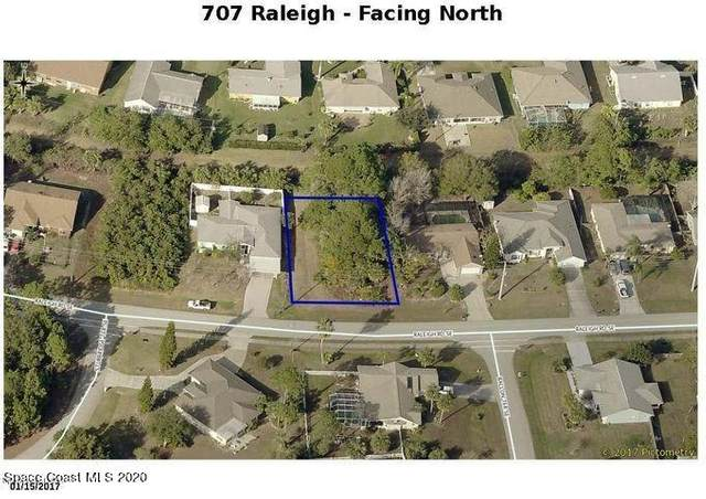 707 Raleigh Road SE, Palm Bay, FL 32909 (MLS #893030) :: Premier Home Experts