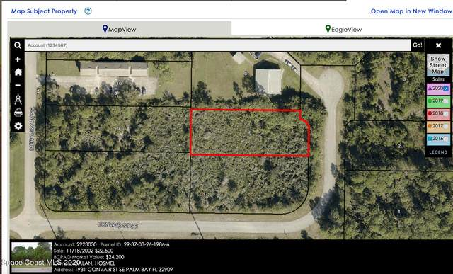 1891&1931 Convair Street SE, Palm Bay, FL 32909 (MLS #893253) :: Premier Home Experts