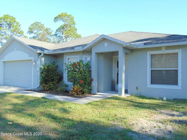 2813 Tivoli Avenue SE, Palm Bay, FL 32909 (MLS #893517) :: Blue Marlin Real Estate