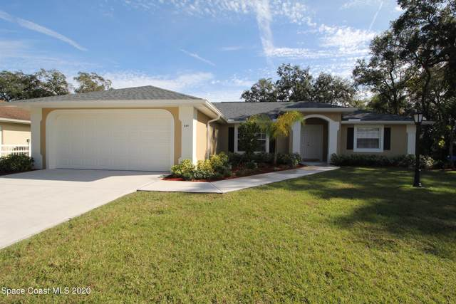 549 Picasso Avenue NE, Palm Bay, FL 32907 (MLS #894481) :: Blue Marlin Real Estate