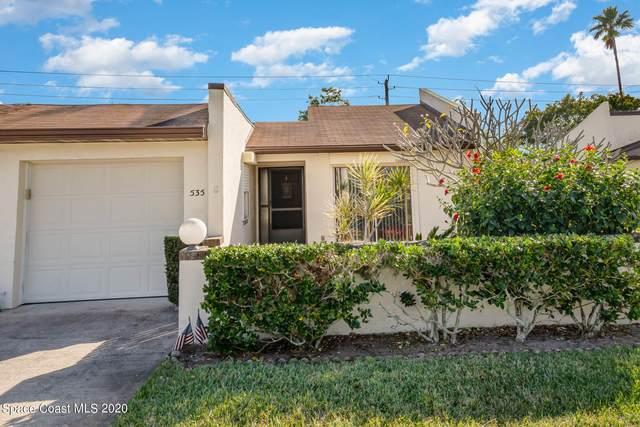 535 Summerset Court, Indian Harbour Beach, FL 32937 (MLS #894726) :: Armel Real Estate